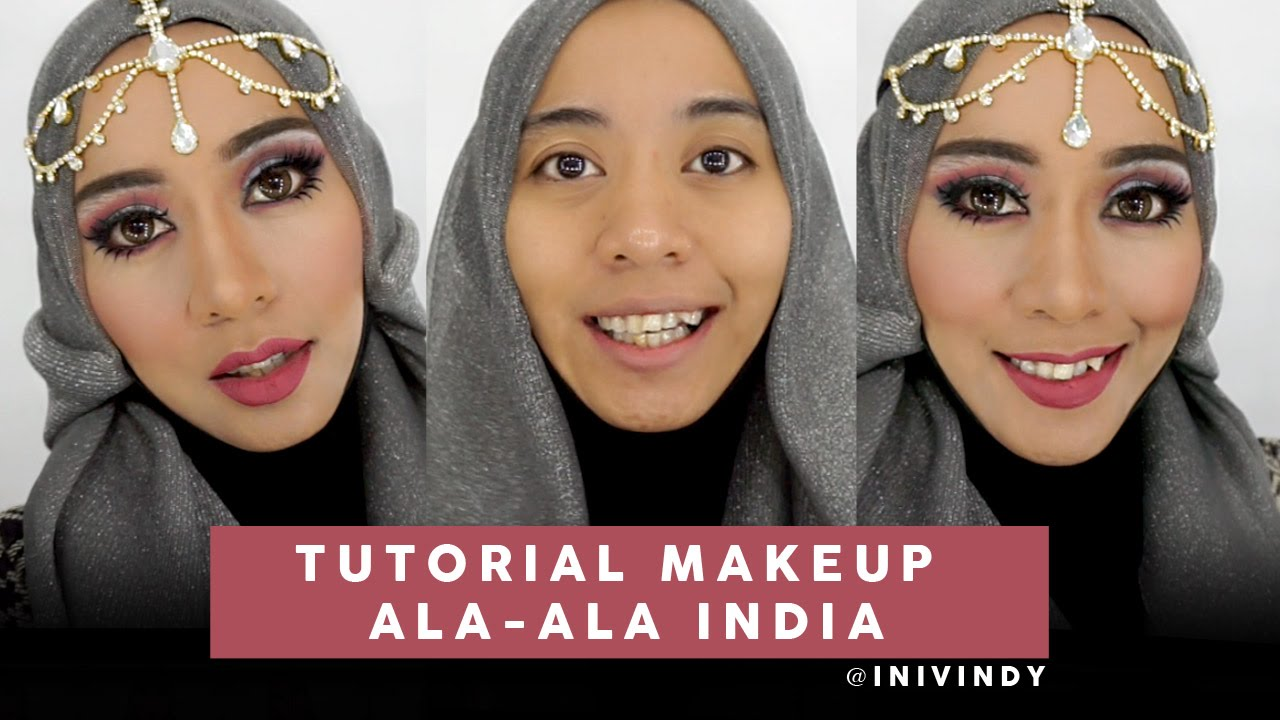 Tutorial Makeup Ala India Cut Crease Inivindy YouTube