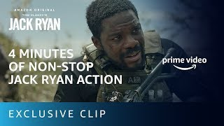 Best Action Scene in Jack Ryan Season 2 | Prime Video