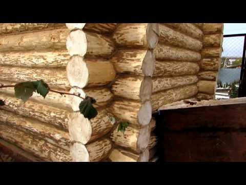 Строительство бани 3,5 на 6 из сруба / #Баня из бревна с печью под ключ
