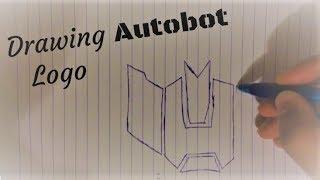 Drawing Autobots Logo
