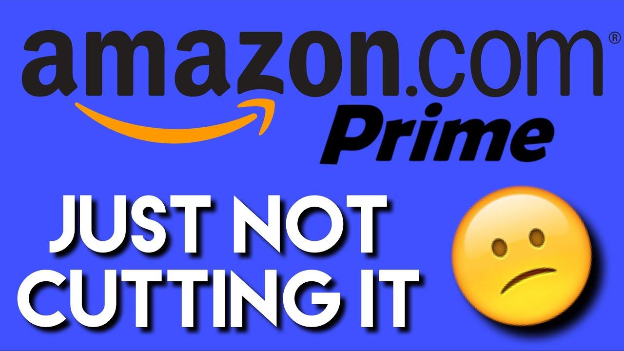 Why I'm cancelling Amazon Prime - YouTube