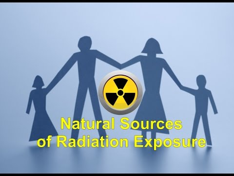 Natural Sources of Radiation Exposure