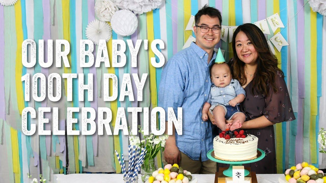 100 days celebration baby