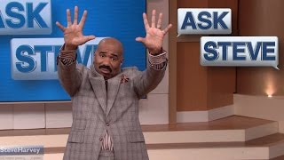 Ask Steve: My son is obsessed with butts! || STEVE HARVEY