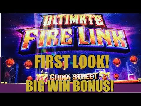 ★first Look ★ Ultimate Fire Link Slot Big Win Bonus Youtube