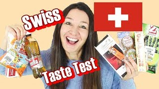 Swiss Candy Taste Test Switzerland Rivella Soda Toblerone and more