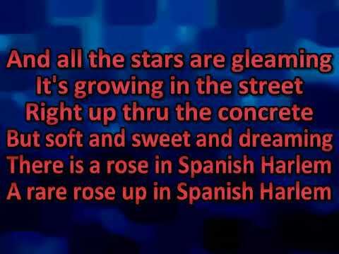 Ben E  king   Spanish harlem