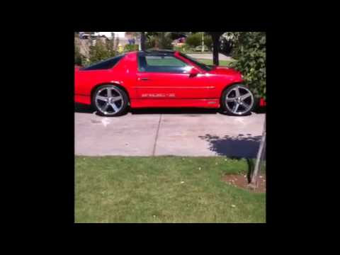 89 Iroc Z28 20 Inch Irocs Youtube