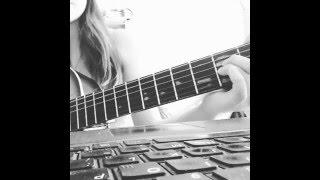 """""""изгиб гитары желтой"""" аккорды для начинающих"""