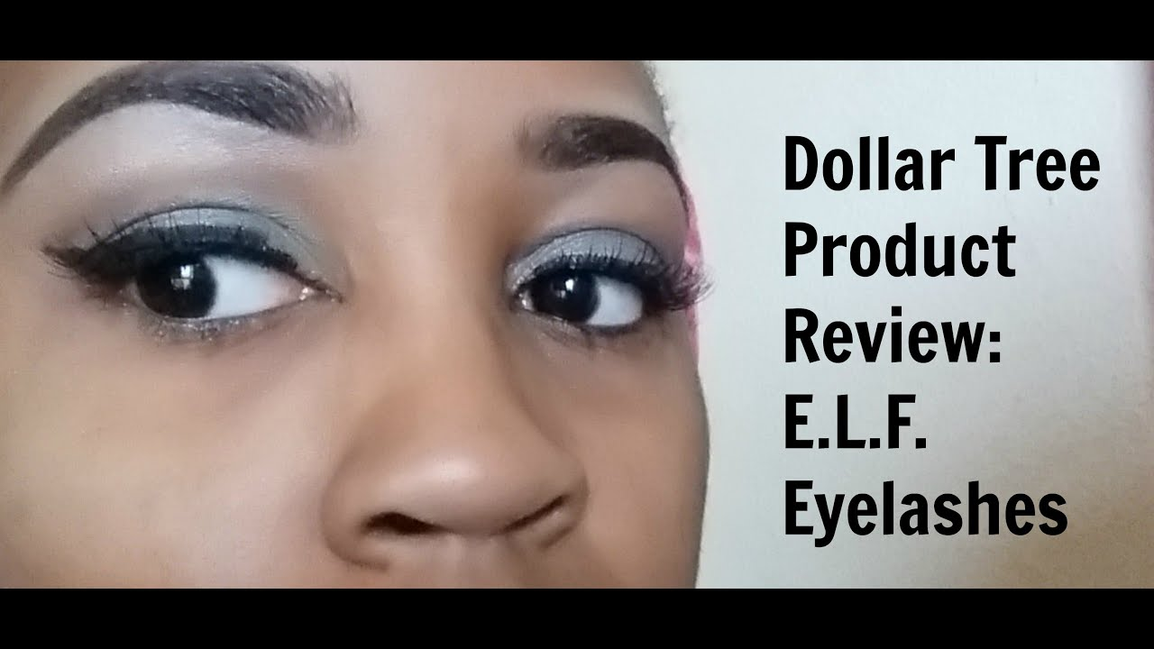 Dollar Tree Product Review: E.L.F. Eyelashes - YouTube