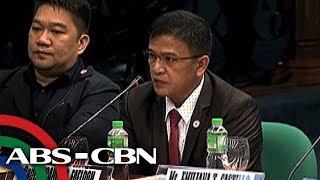 Nagkagirian sina Senador Antonio Trillanes IV at Customs Commission...