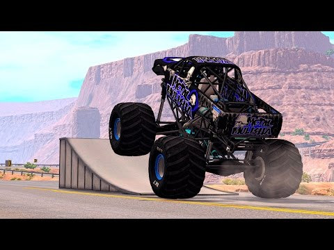 Thumbnail: Epic High Speed Jumps #1 – BeamNG Drive