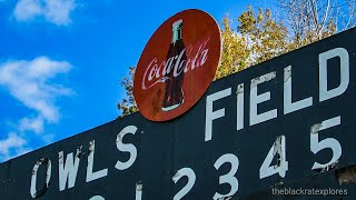 Owl Baseball field and Abandoned Drive-in