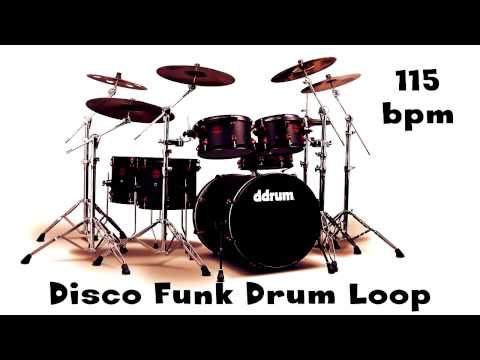 Disco Funk Drum Loop 115 bpm