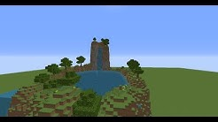 Minecraft - Tutorial Wasserfall/Waterfall Bauen