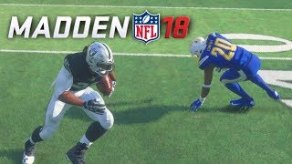 Madden 18 Career Mode Ep 7 - JUKE MOVE DESTROYED HIS ANKLES!