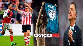 'CHUCKY' por ALEXIS en el ARSENAL | PACHUCA vs REAL MADRID ¿CÓMO se daría? | BAJAS en el TRI