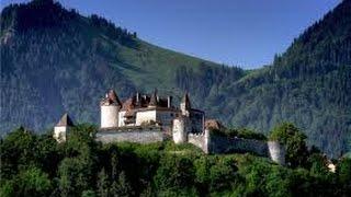 Швейцария. Замок Грюйер. Туризм, отдых и путешествия