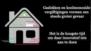 Gaslevering / lekcontrole systeem