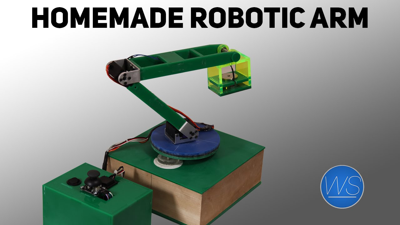 Diy arduino robotic arm youtube