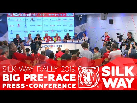 2019.05.30 Press-conference of the SilkWAyRally 2019