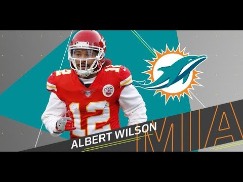 promo code cd715 76e58 Miami Dolphins sign WR Albert Wilson | 3 yrs $24mill | Landry replacement?