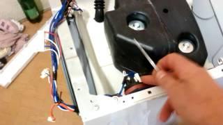 ремонт стиральной машины DAEIVOO DWD MH 1211  НЕ ГРЕЕТ ВОДУ