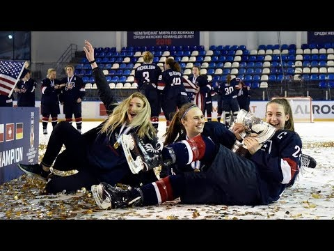 Goals USA vs. Sweden - 2018 IIHF Ice Hockey U18 Women's World Championship
