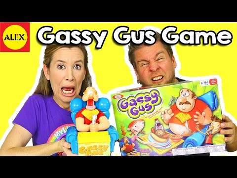 Gassy Gus Game By Alex Brand Toys