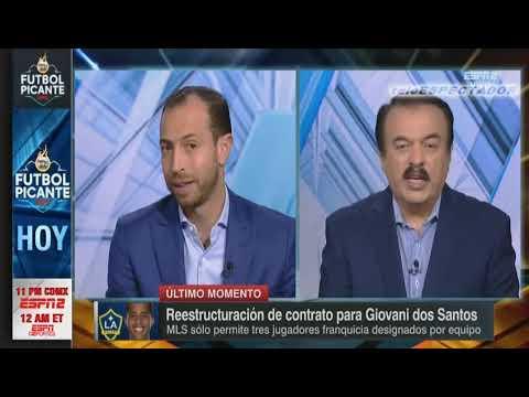 LA Galaxy podria invitar a Giovani dos Santos a dejar el equipo - Futbol Picante
