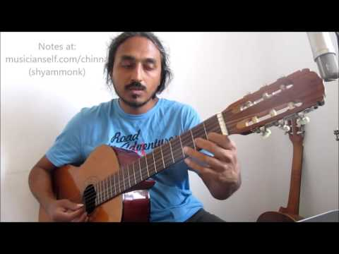 How to Chinna Chinna Asai (A R Rahman, Roja): Swaras, Guitar Notes for Singers and Instruments