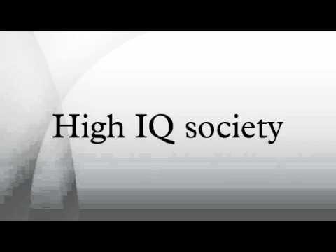 international high iq society
