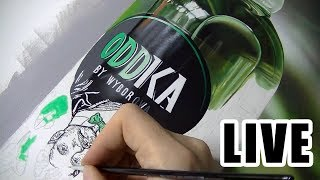 Painting Live - Green Bottle - 8th