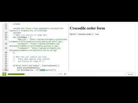 More form processing with jQuery | Computer Programming | Khan Academy