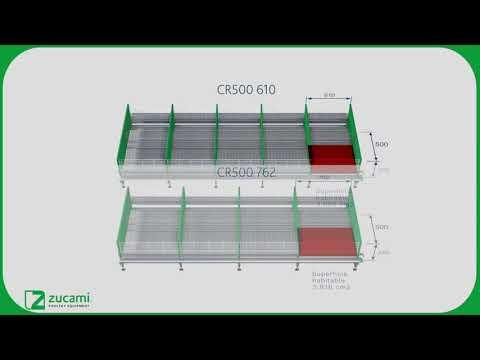 Клетка для молодняка - модель CR500