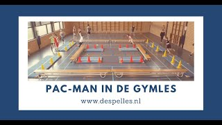 Pac-man in de gymles!
