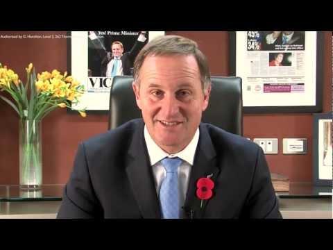 PM John Key - Video Journal No.4