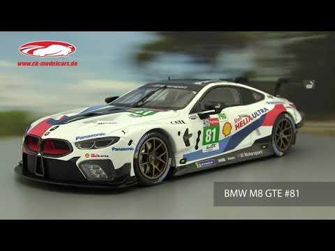 BMW M8 GTE 24h Le Mans 2019 Catsburg Tomczyk Eng 1:43 TSM Model 430473 NEU
