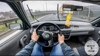 1998 Skoda Felicia | 1.3 68 HP | POV Test Drive