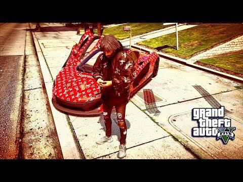 GTA 5 REAL LIFE MOD #9 HYPE BEAST NEW CAR SUPREME! (GTA 5 REAL LIFE MOD)