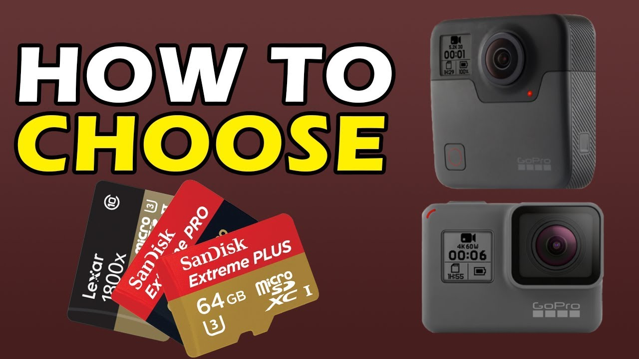 How To Choose Micro Sd Card For Gopro Hero 6 And Fusion Youtube