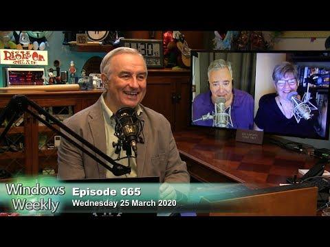 Social Distancing Pioneers - Windows Weekly 665
