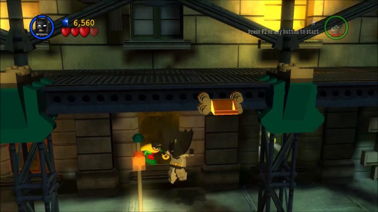 LEGO Batman: The Videogame - You can Bank on Batman - YouTube