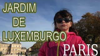 Paris - Jardim de Luxemburgo - França 🇫🇷 - Jardin du Luxembourg