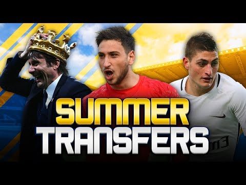 SUMMER TRANSFERS! w/ DONNARUMMA REJECTS MILAN CONTRACT! - FIFA 18 ULTIMATE TEAM