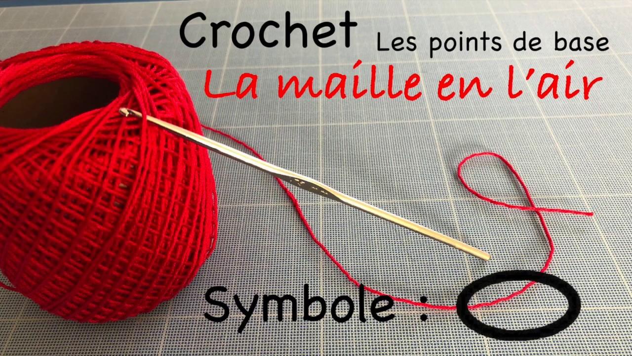Point De Base Au Crochet 16 La Maille En Lair Ou Chaînette