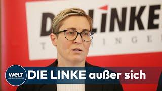 """LINKE-VORSITZENDE: Hennig-Wellsow – """"Das ist eindeutig der Pakt mit dem Faschismus"""""""
