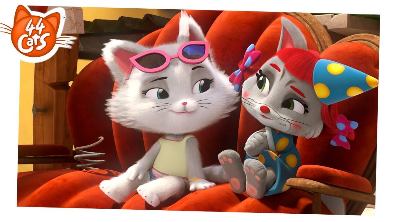 44 Cats | Season 2 - Peppy's true talent [CLIP]