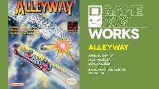 Alleyway retrospective: Game Boy's breakout title | Game Boy Works #001
