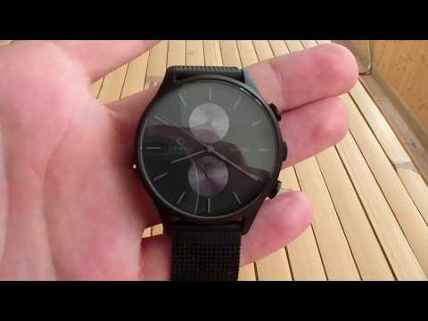 Часы OBAKU V196GUBBMB  Японский дзен в черном
